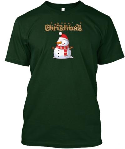 Schneemann für Weihnachten T-Shirt