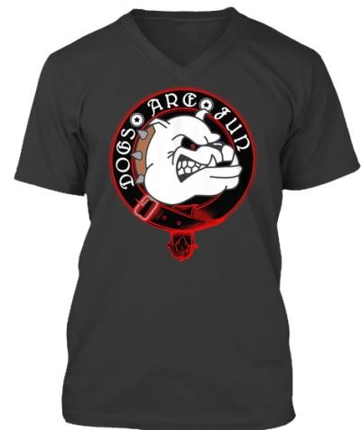 Dogs are Fun Bulldog T-Shirt