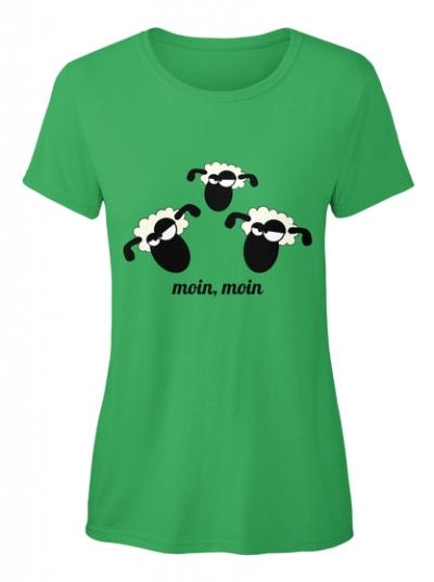Schaf moin moin T-Shirt