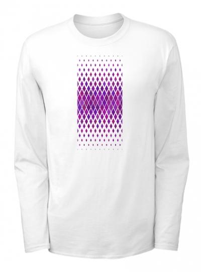 Violet Sports Langarmshirt
