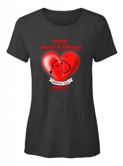 Doglover behind the dog T-Shirt
