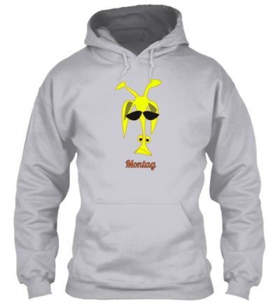 Giraffe Montag Hoodie