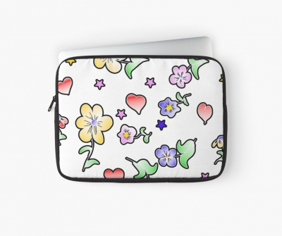 Blumen Fun Laptoptasche