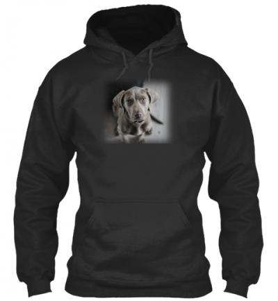 Weimaraner Hund Hoodie
