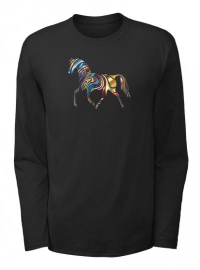 Pferd Langarmshirt