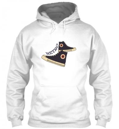Sneaker Retro Hoodie