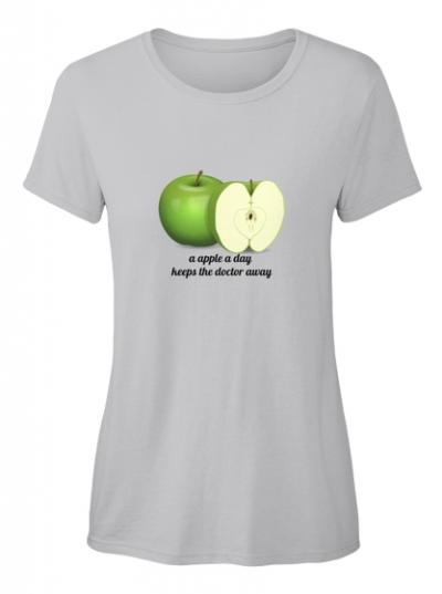 Apfel ist gesund T-Shirt