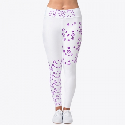 Blumen im Wind Leggings