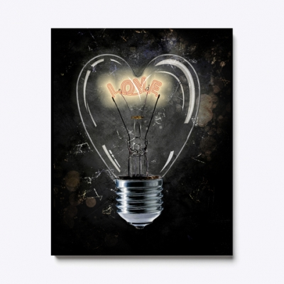 Love Light  Bild, Poster, Keilrahmen