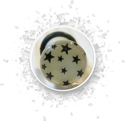Plug Sterne 6mm Leuchten im Dunkeln