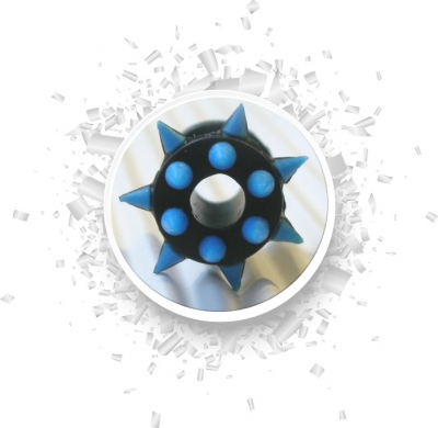 Plug Blue Star  6mm